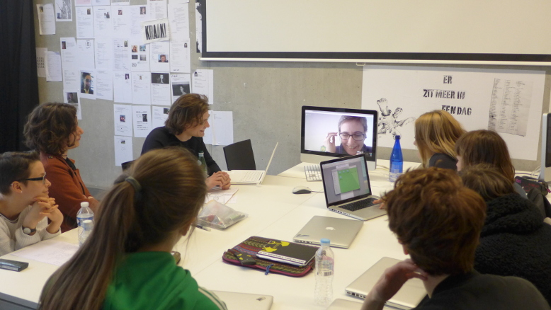 KASK Collectief / Open Tools project week 2015